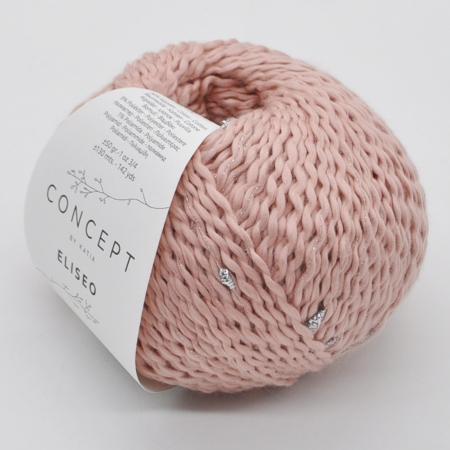 Пряжа для вязания и рукоделия Eliseo (Katia) цвет 64, 130 м