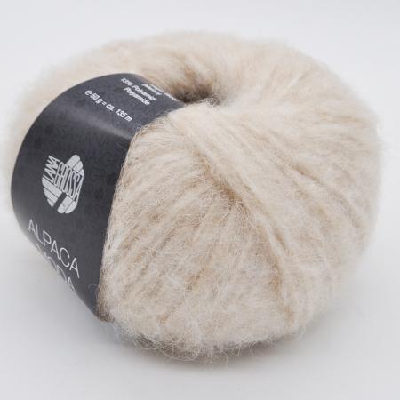 Пряжа для вязания и рукоделия Alpaca Moda (Lana Grossa) цвет 002, 135 м