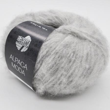 Пряжа для вязания и рукоделия Alpaca Moda (Lana Grossa) цвет 004, 135 м