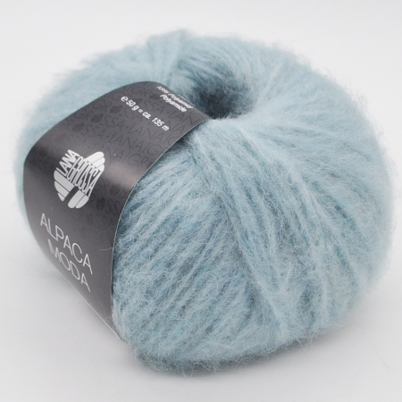 Пряжа для вязания и рукоделия Alpaca Moda (Lana Grossa) цвет 007, 135 м