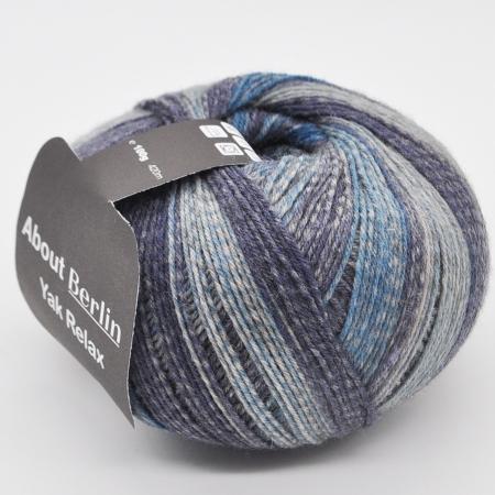 Пряжа для вязания и рукоделия About Berlin Yak Relax (Lana Grossa) цвет 667, 420 м