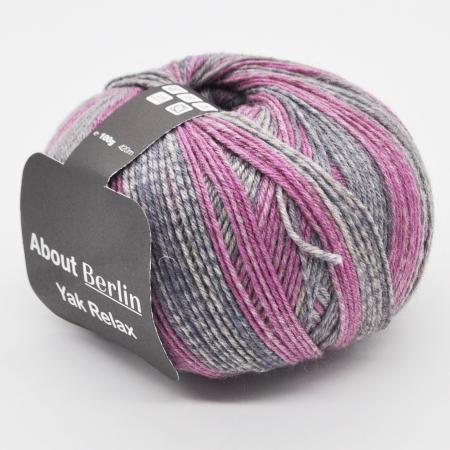 Пряжа для вязания и рукоделия About Berlin Yak Relax (Lana Grossa) цвет 670, 420 м