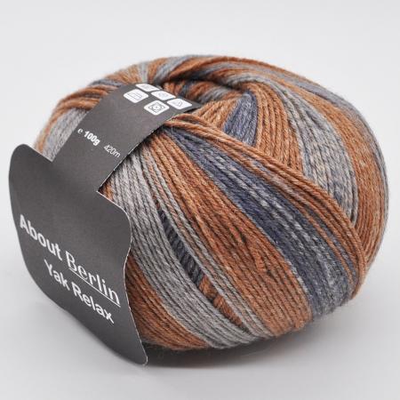 Пряжа для вязания и рукоделия About Berlin Yak Relax (Lana Grossa) цвет 669, 420 м