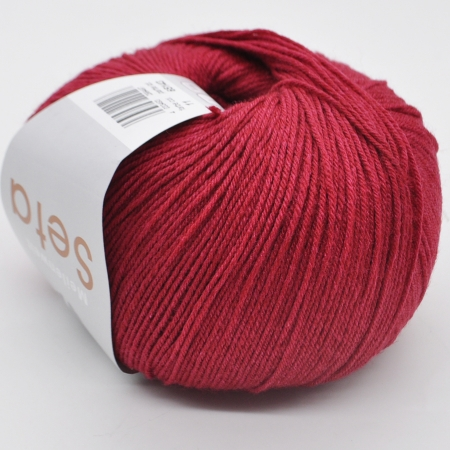 Пряжа для вязания и рукоделия Meilenweit 100 Seta (Lana Grossa) цвет 11, 400 м