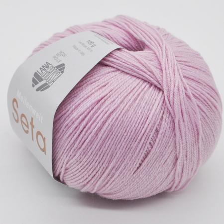 Пряжа для вязания и рукоделия Meilenweit 100 Seta (Lana Grossa) цвет 3, 400 м
