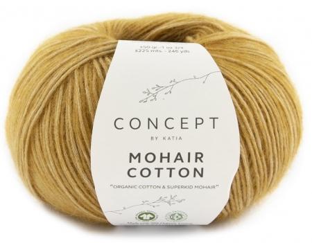 Пряжа для вязания и рукоделия Mohair Cotton (Katia) цвет 73, 225 м