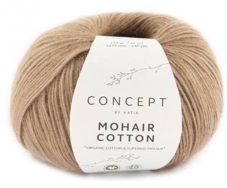 Пряжа для вязания и рукоделия Mohair Cotton (Katia) цвет 74, 225 м