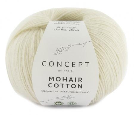 Пряжа для вязания и рукоделия Mohair Cotton (Katia) цвет 70, 225 м