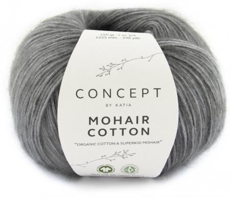 Пряжа для вязания и рукоделия Mohair Cotton (Katia) цвет 71, 225 м