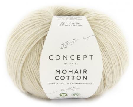 Пряжа для вязания и рукоделия Mohair Cotton (Katia) цвет 77, 225 м