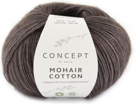Пряжа для вязания и рукоделия Mohair Cotton (Katia) цвет 80, 225 м