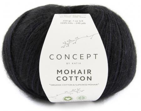 Пряжа для вязания и рукоделия Mohair Cotton (Katia) цвет 82, 225 м