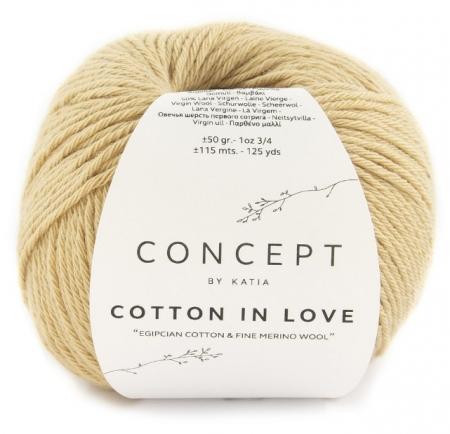 Пряжа для вязания и рукоделия Cotton in Love (Katia) цвет 57, 115 м