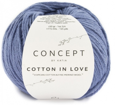 Пряжа Cotton in Love (Katia)