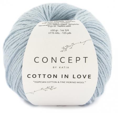 Пряжа для вязания и рукоделия Cotton in Love (Katia) цвет 65, 115 м