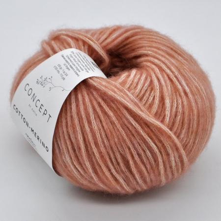 Пряжа для вязания и рукоделия Cotton Merino (Katia) цвет 137, 105 м