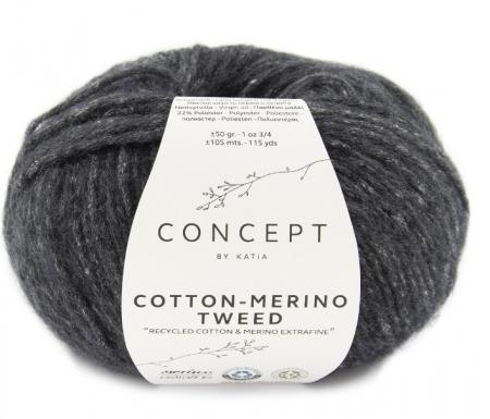 Пряжа для вязания и рукоделия Cotton Merino Tweed (Katia) цвет 503, 105 м