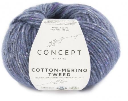Пряжа для вязания и рукоделия Cotton Merino Tweed (Katia) цвет 508, 105 м