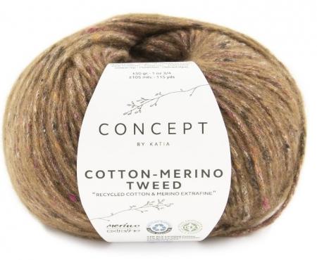 Пряжа для вязания и рукоделия Cotton Merino Tweed (Katia) цвет 505, 105 м