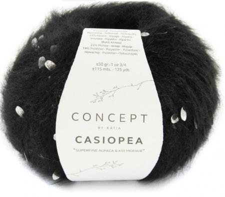 Пряжа для вязания и рукоделия Casiopea (Katia) цвет 60, 115 м