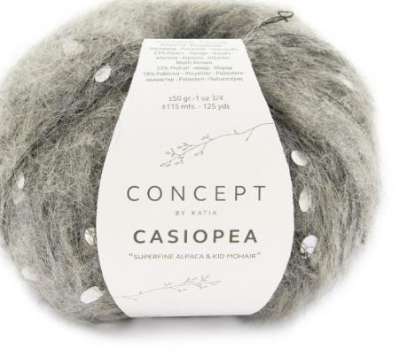 Пряжа для вязания и рукоделия Casiopea (Katia) цвет 61, 115 м