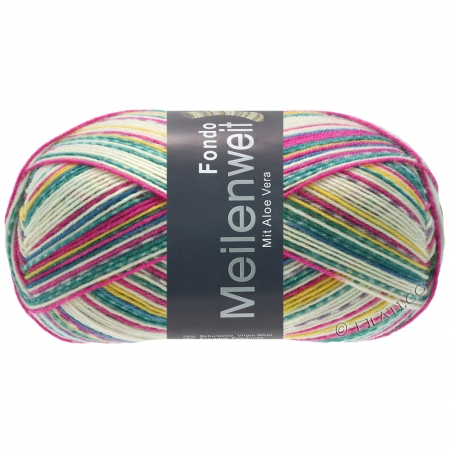 Пряжа для вязания и рукоделия Meilenweit 100 Fondo (Lana Grossa) цвет 7876, 420 м