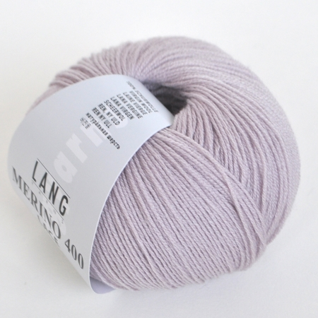 Пряжа для вязания и рукоделия Merino 400 Lace (Lang Yarns) цвет 0019, 200 м