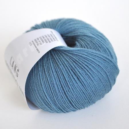 Пряжа для вязания и рукоделия Merino 400 Lace (Lang Yarns) цвет 0074, 200 м