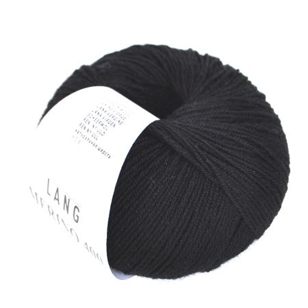 Пряжа для вязания и рукоделия Merino 400 Lace (Lang Yarns) цвет 0004, 200 м