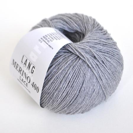 Пряжа для вязания и рукоделия Merino 400 Lace (Lang Yarns) цвет 0003, 200 м