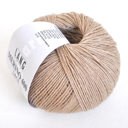 Пряжа для вязания и рукоделия Merino 400 Lace (Lang Yarns) цвет 0026, 200 м