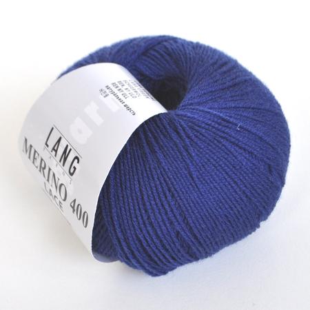 Пряжа для вязания и рукоделия Merino 400 Lace (Lang Yarns) цвет 0035, 200 м