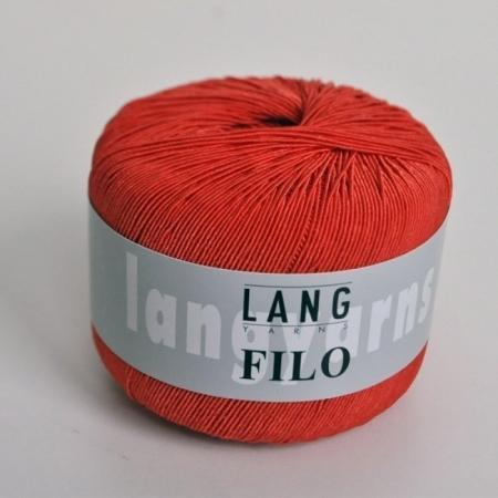 Пряжа для вязания и рукоделия Filo (Lang Yarns) цвет 0028, 200 м