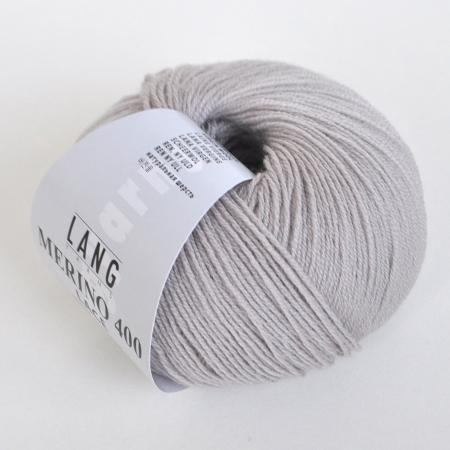 Пряжа для вязания и рукоделия Merino 400 Lace (Lang Yarns) цвет 0096, 200 м
