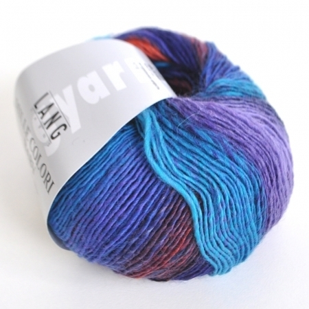 Пряжа для вязания и рукоделия Mille Colori Baby (Lang Yarns) цвет 0006, 190 м