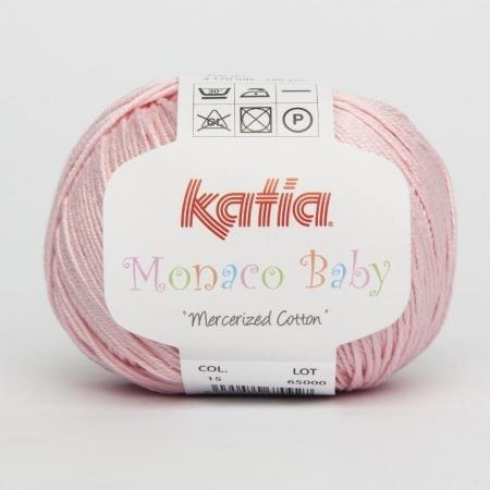 Пряжа для вязания и рукоделия Monaco Baby (Katia) цвет 15, 170 м