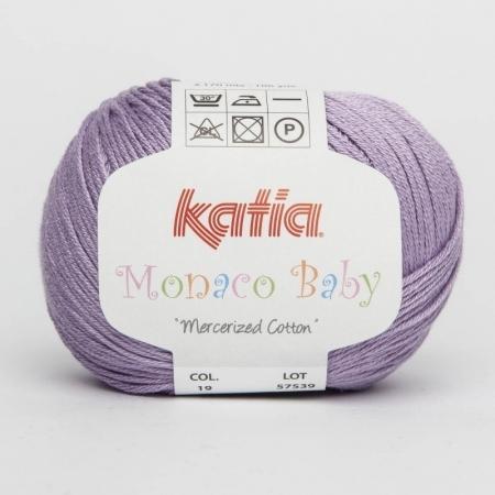 Пряжа для вязания и рукоделия Monaco Baby (Katia) цвет 19, 170 м