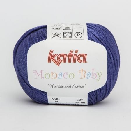 Пряжа для вязания и рукоделия Monaco Baby (Katia) цвет 24, 170 м