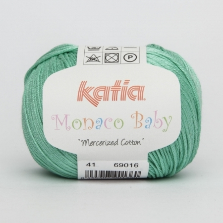 Пряжа для вязания и рукоделия Monaco Baby (Katia) цвет 41, 170 м