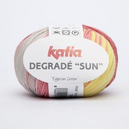 Пряжа для вязания и рукоделия Degrade Sun (Katia) цвет 90, 115 м