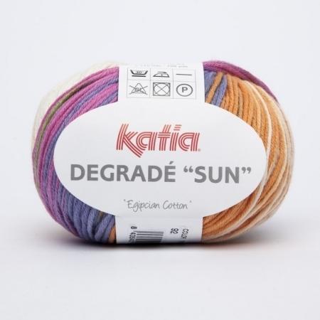 Пряжа для вязания и рукоделия Degrade Sun (Katia) цвет 92, 115 м