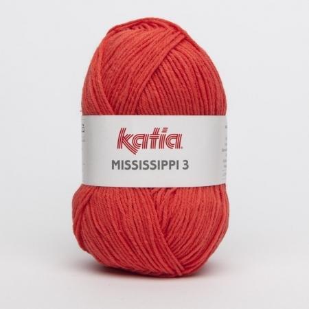 Пряжа для вязания и рукоделия Mississippi 3 (Katia) цвет 776, 210 м