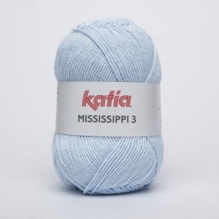Пряжа для вязания и рукоделия Mississippi 3 (Katia) цвет 813, 210 м