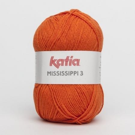Пряжа для вязания и рукоделия Mississippi 3 (Katia) цвет 733, 210 м