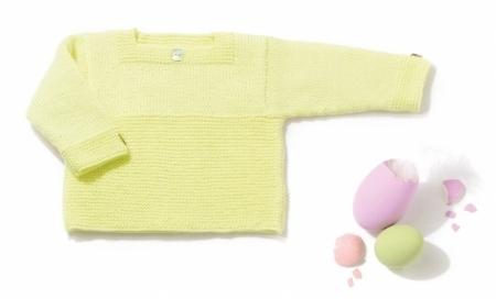 Детская кофточка из пряжи Katia Monaco Baby