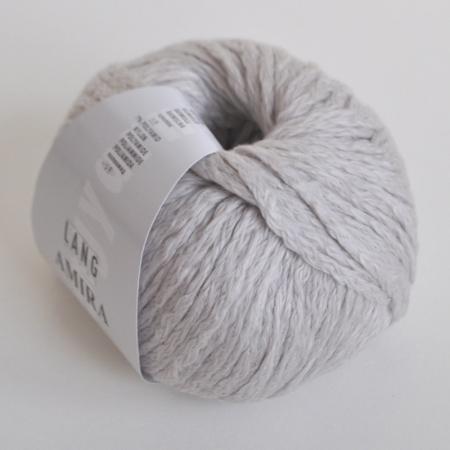 Пряжа для вязания и рукоделия Amira (Lang Yarns) цвет 0096, 100 м