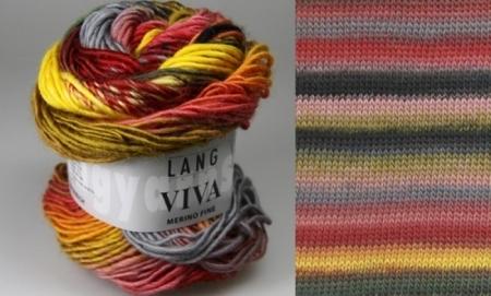Пряжа для вязания и рукоделия Viva (Lang Yarns) цвет 0061, 105 м