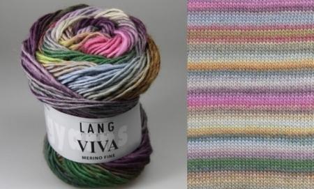 Пряжа для вязания и рукоделия Viva (Lang Yarns) цвет 0065, 105 м