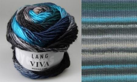 Пряжа для вязания и рукоделия Viva (Lang Yarns) цвет 0079, 105 м