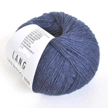 Пряжа для вязания и рукоделия Merino 400 Lace (Lang Yarns) цвет 0010, 200 м